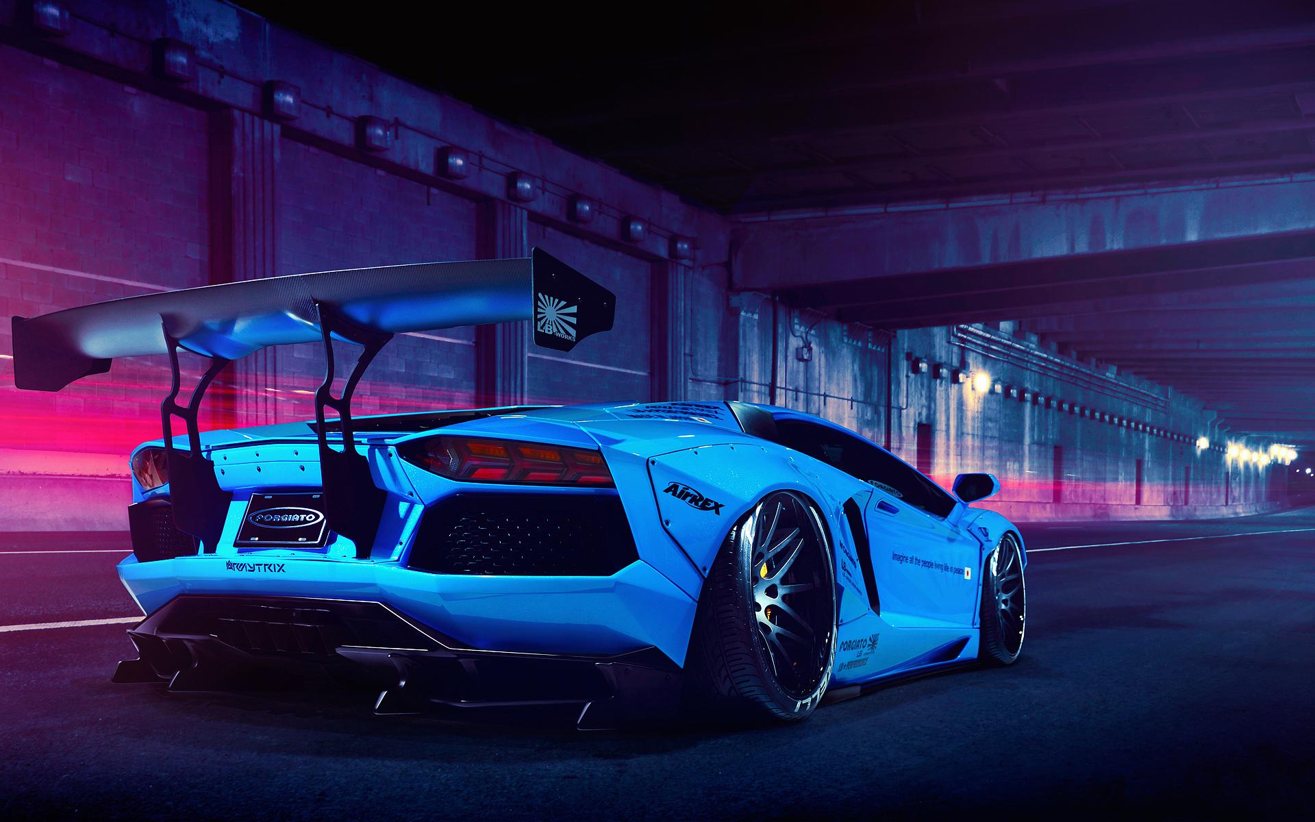 Lamborghini aventador wallpaper hd 1600x900