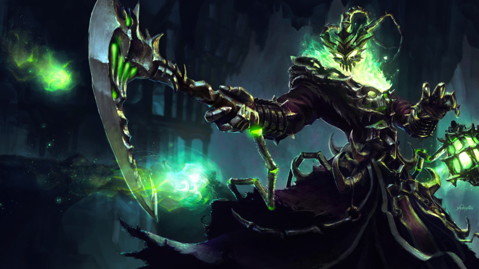 31 Thresh League Of Legends HD Wallpapers