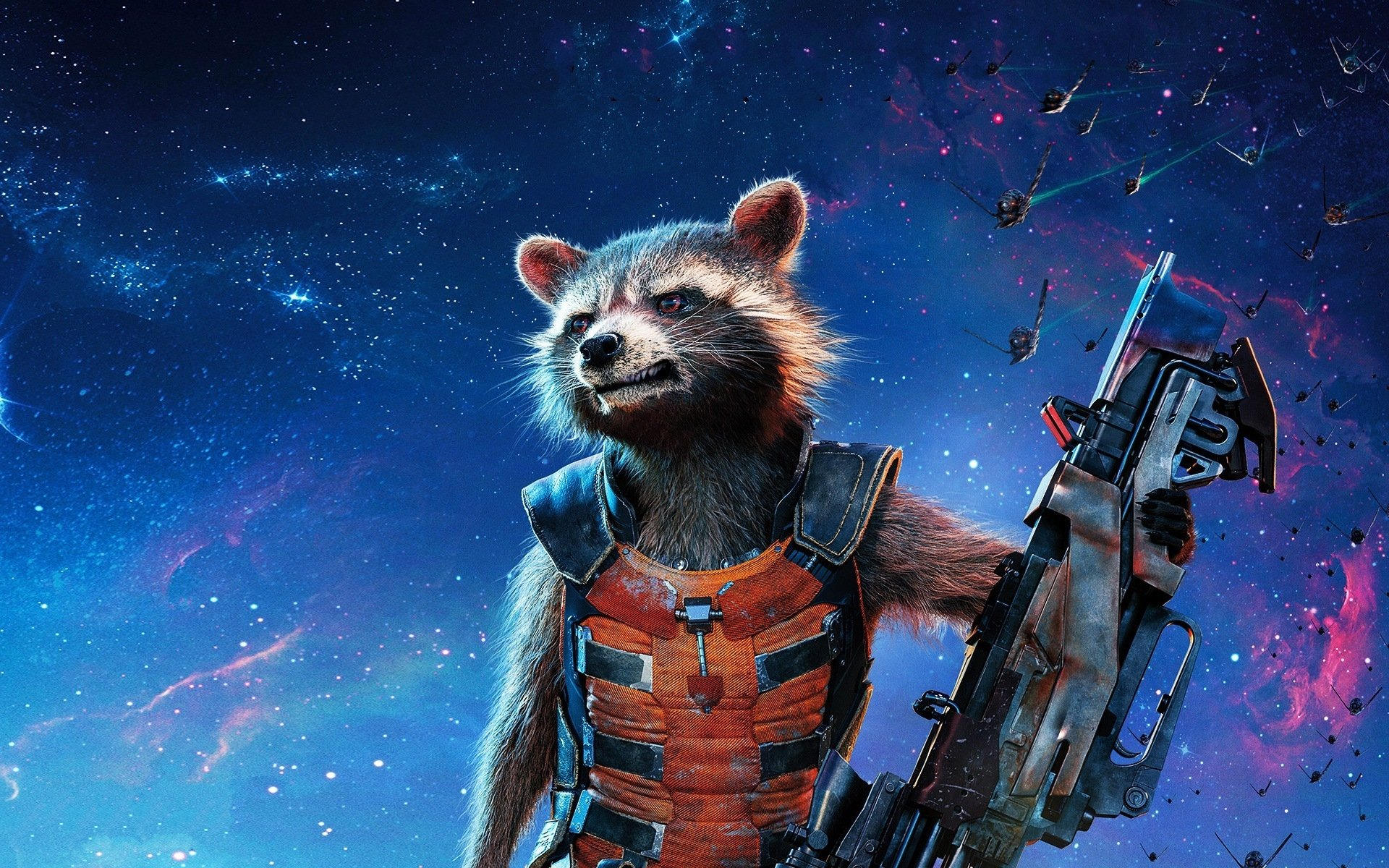 Movie - Guardians of the Galaxy  Rocket Raccoon Wallpaper