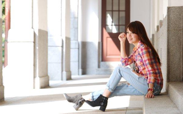 Women Xiǎo Dàn Models Taiwan Taiwanese HD Wallpaper | Background Image