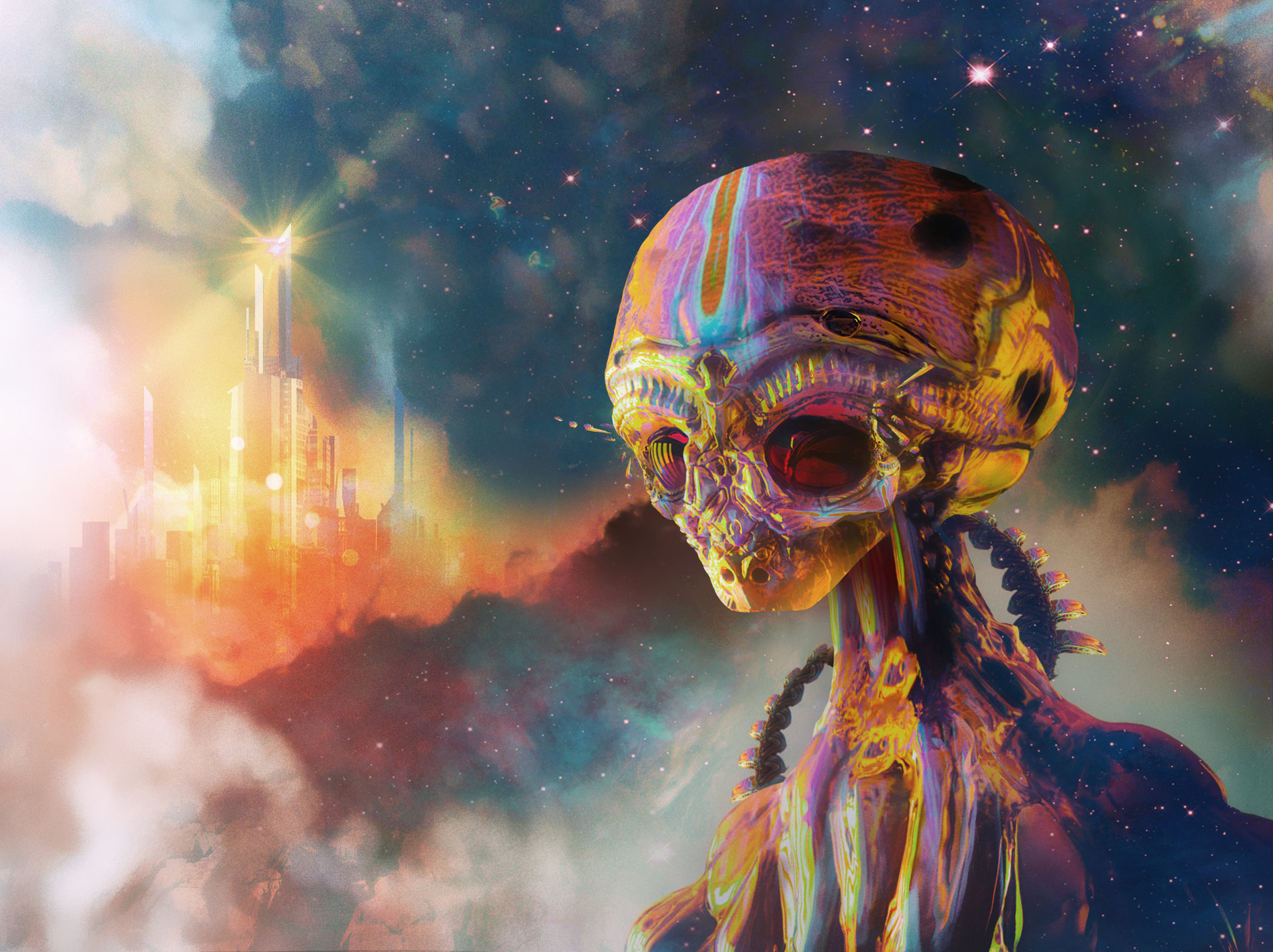 Alien Full HD Papel De Parede And Background Image