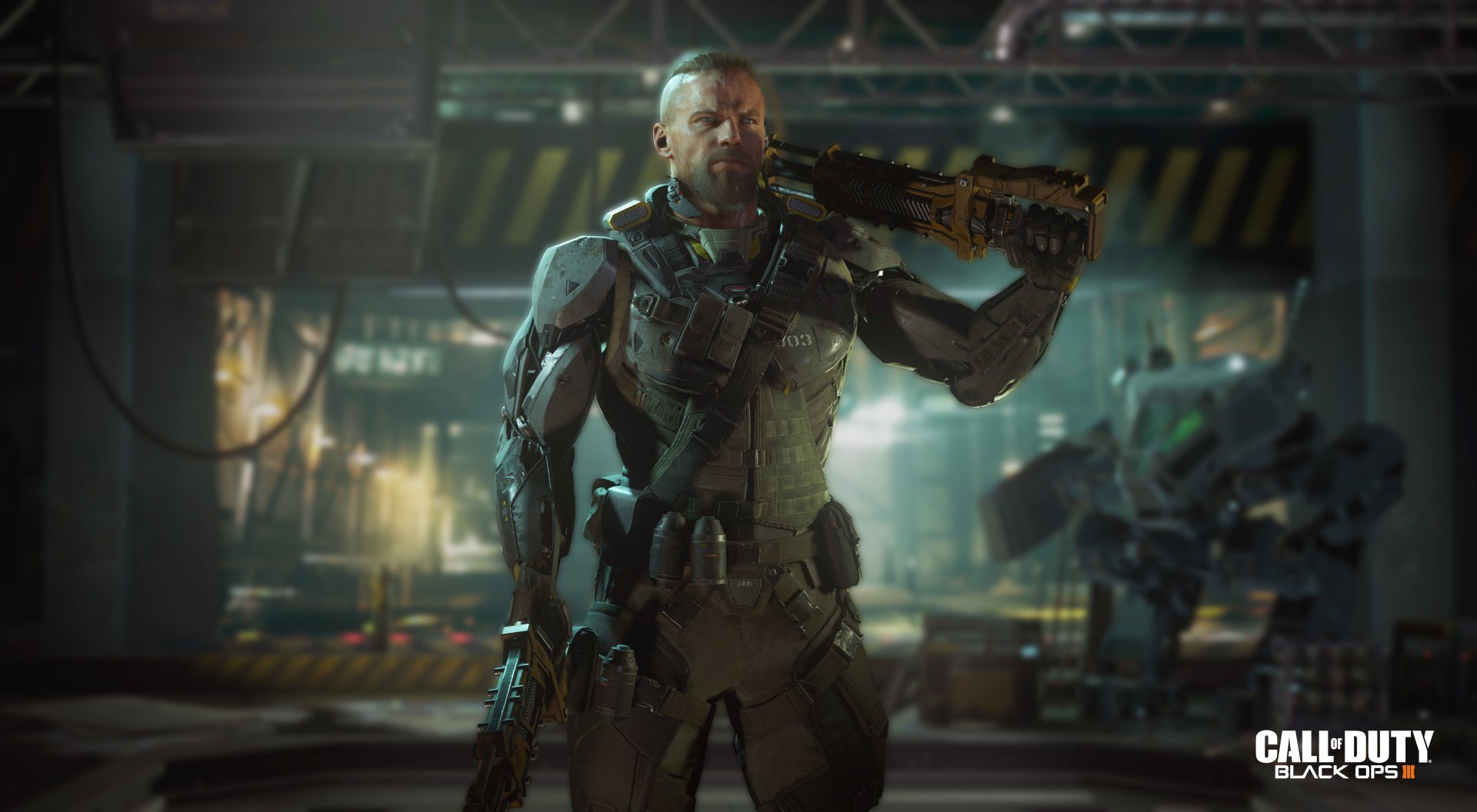 Video Game - Call of Duty: Black Ops III  Call Of Duty Soldier Wallpaper