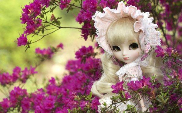 Man Made Doll Flower Pink Flower HD Wallpaper | Background Image