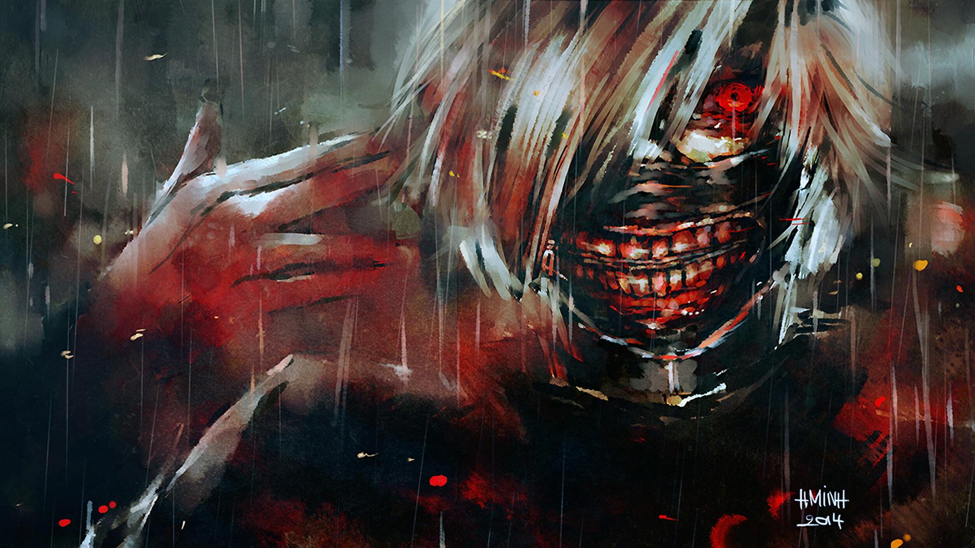 Tokyo Ghoul Fondo De Pantalla Hd Fondo De Escritorio
