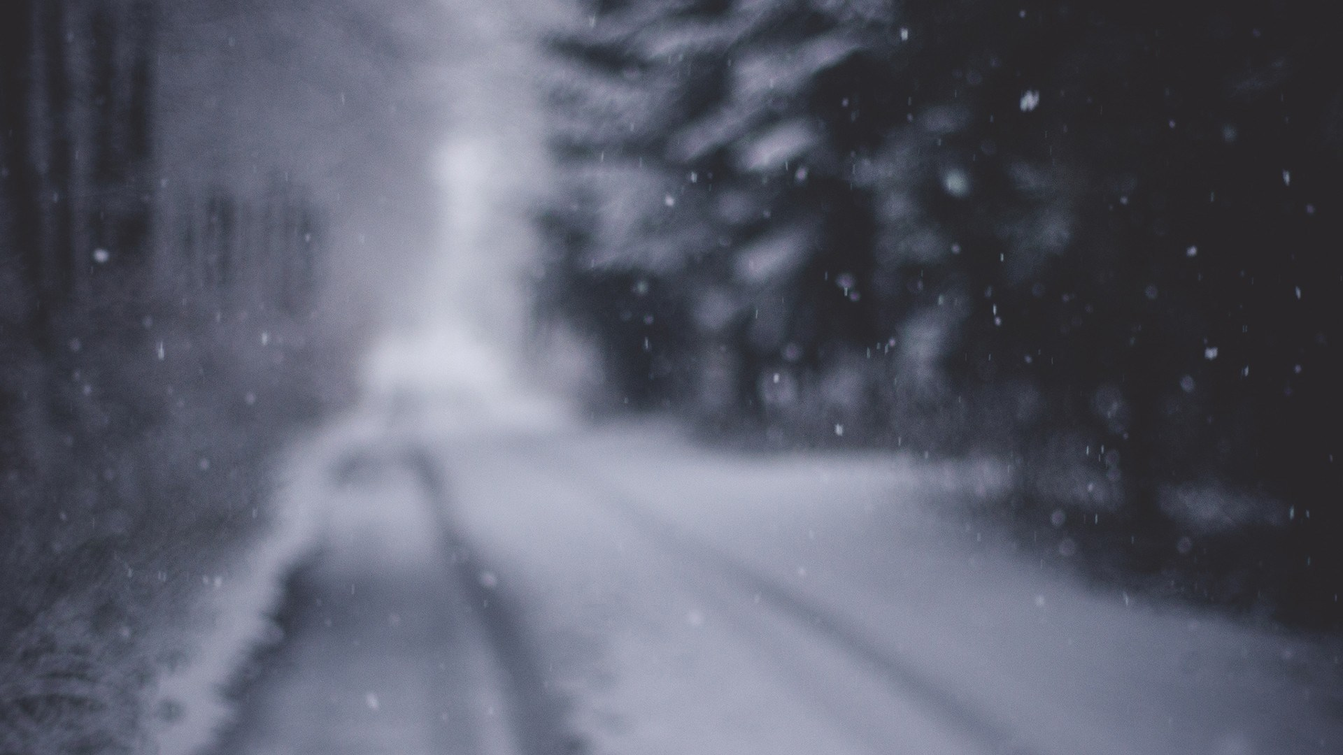 snow road iphone wallpaper