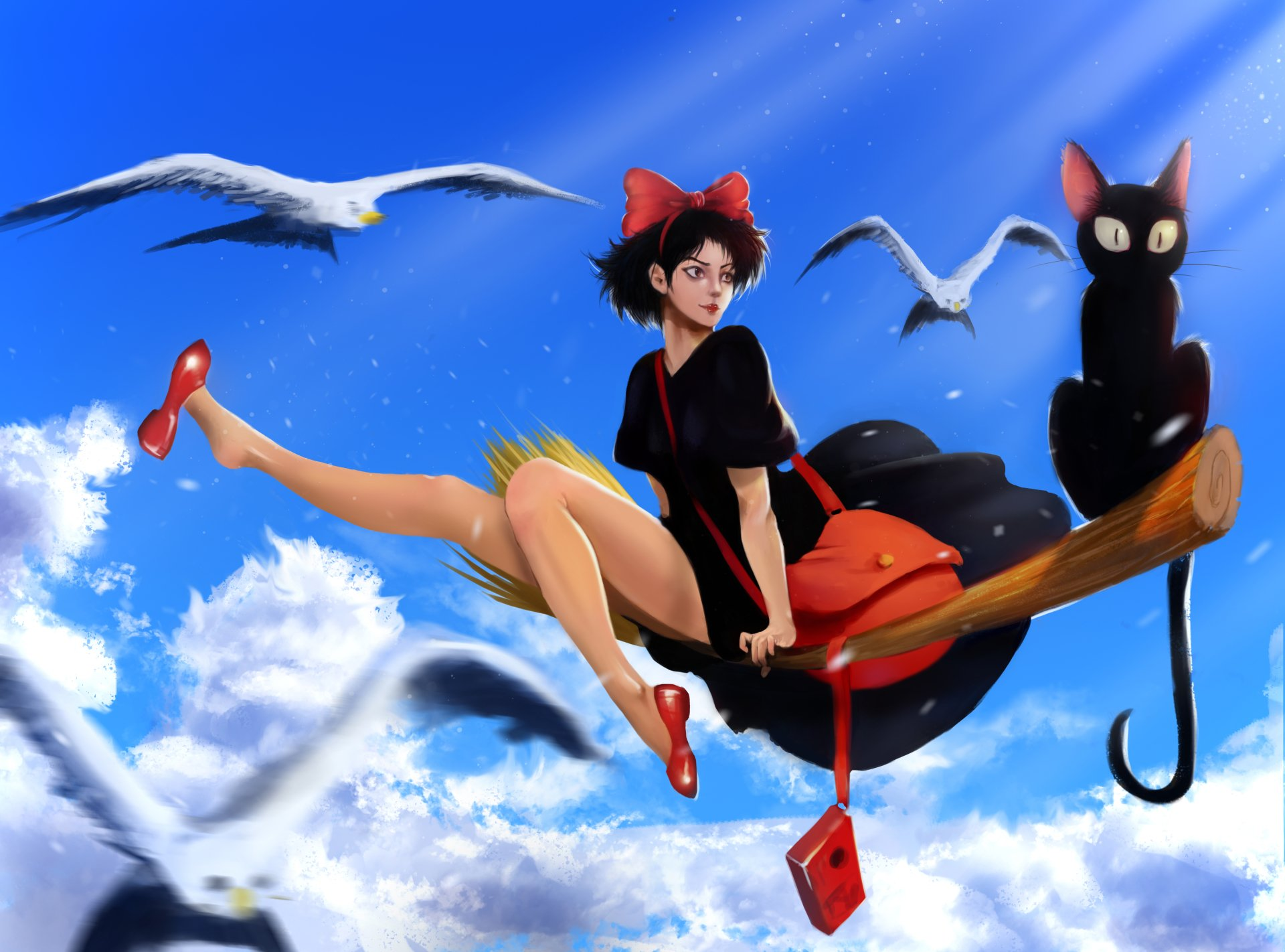 4 4k Ultra Hd Kiki S Delivery Service Wallpapers Background Images Wallpaper Abyss