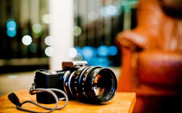 Man Made Camera Sony Bokeh HD Wallpaper   Background Image