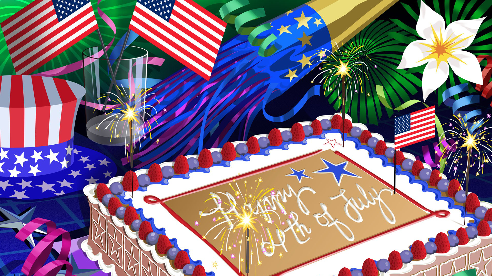 4th Of July Ipad Wallpaper Hd: 4th Of July Full HD Wallpaper And Background Image