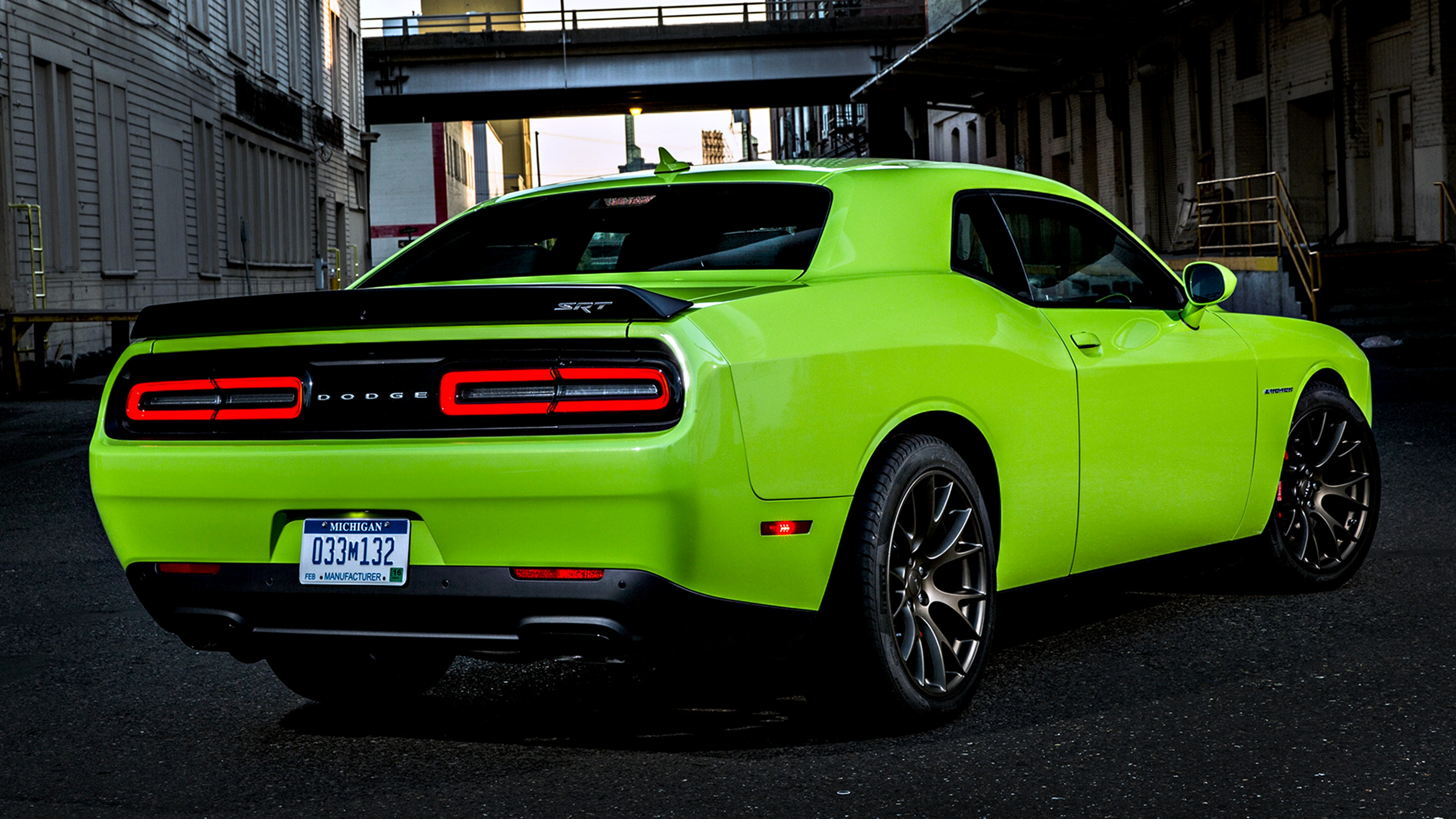 Dodge Challenger SRT Hellcat 4k Ultra HD Wallpaper