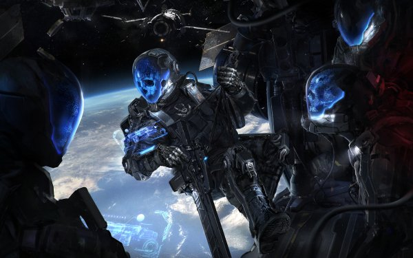 Sci Fi Dark HD Wallpaper | Background Image