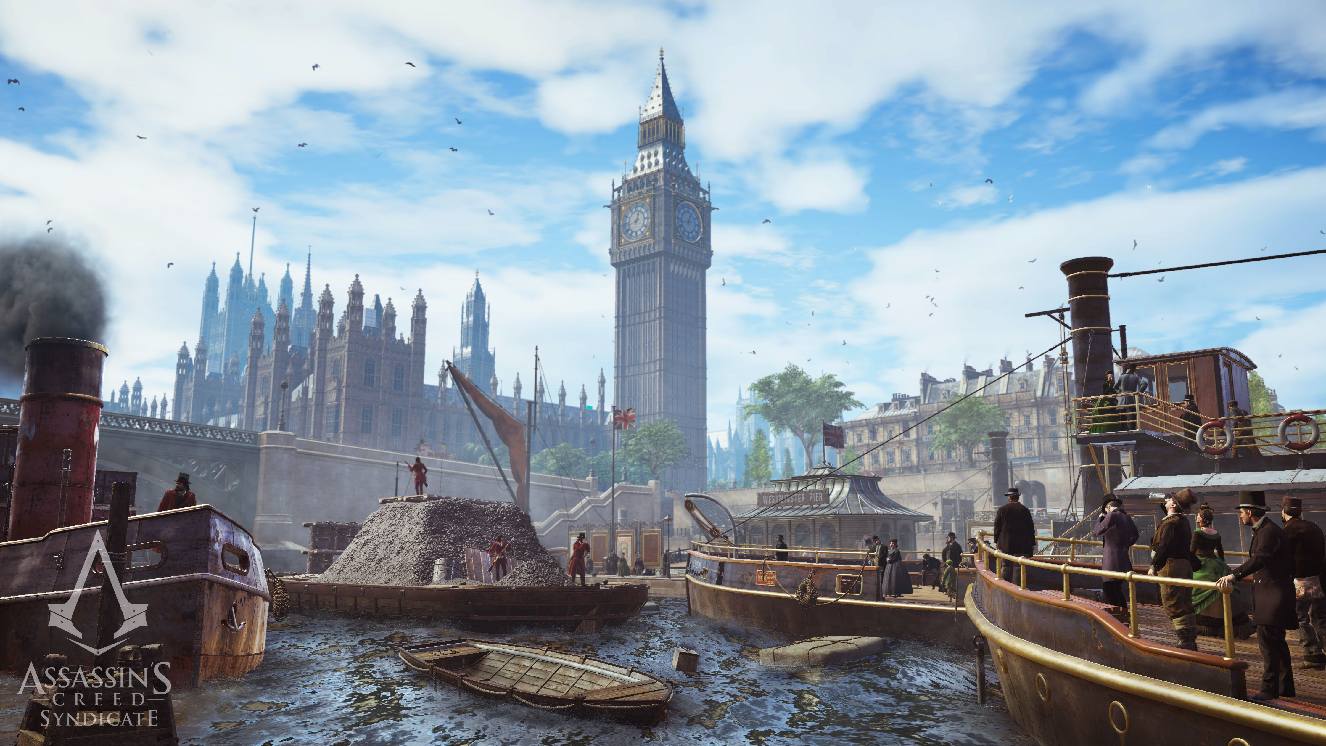 Assasin's Creed Syndicate Gameplay Screenshoot