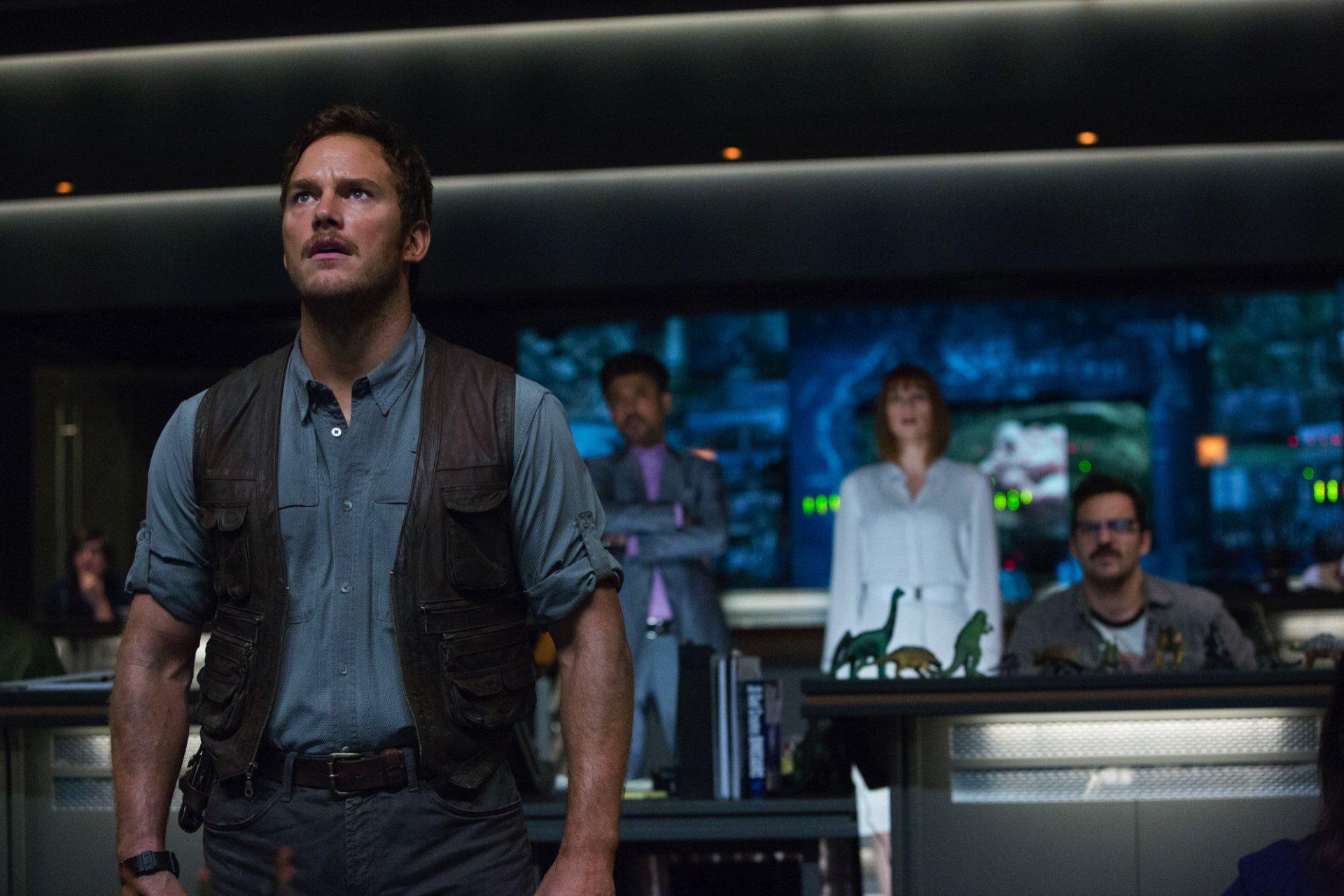 Movie - Jurassic World  Chris Pratt Wallpaper