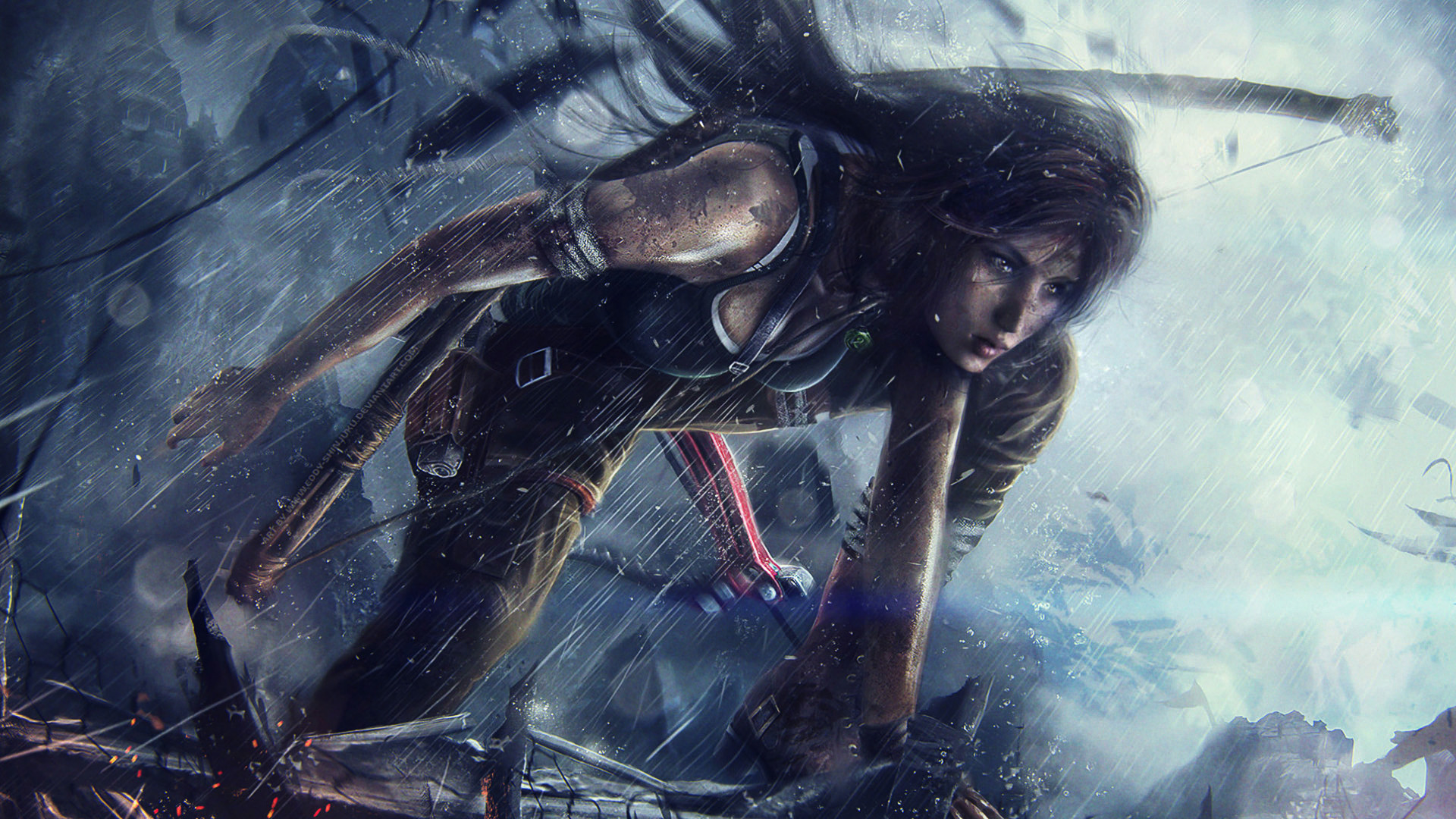 Tomb Raider (2013) Full HD Papel De Parede And Background