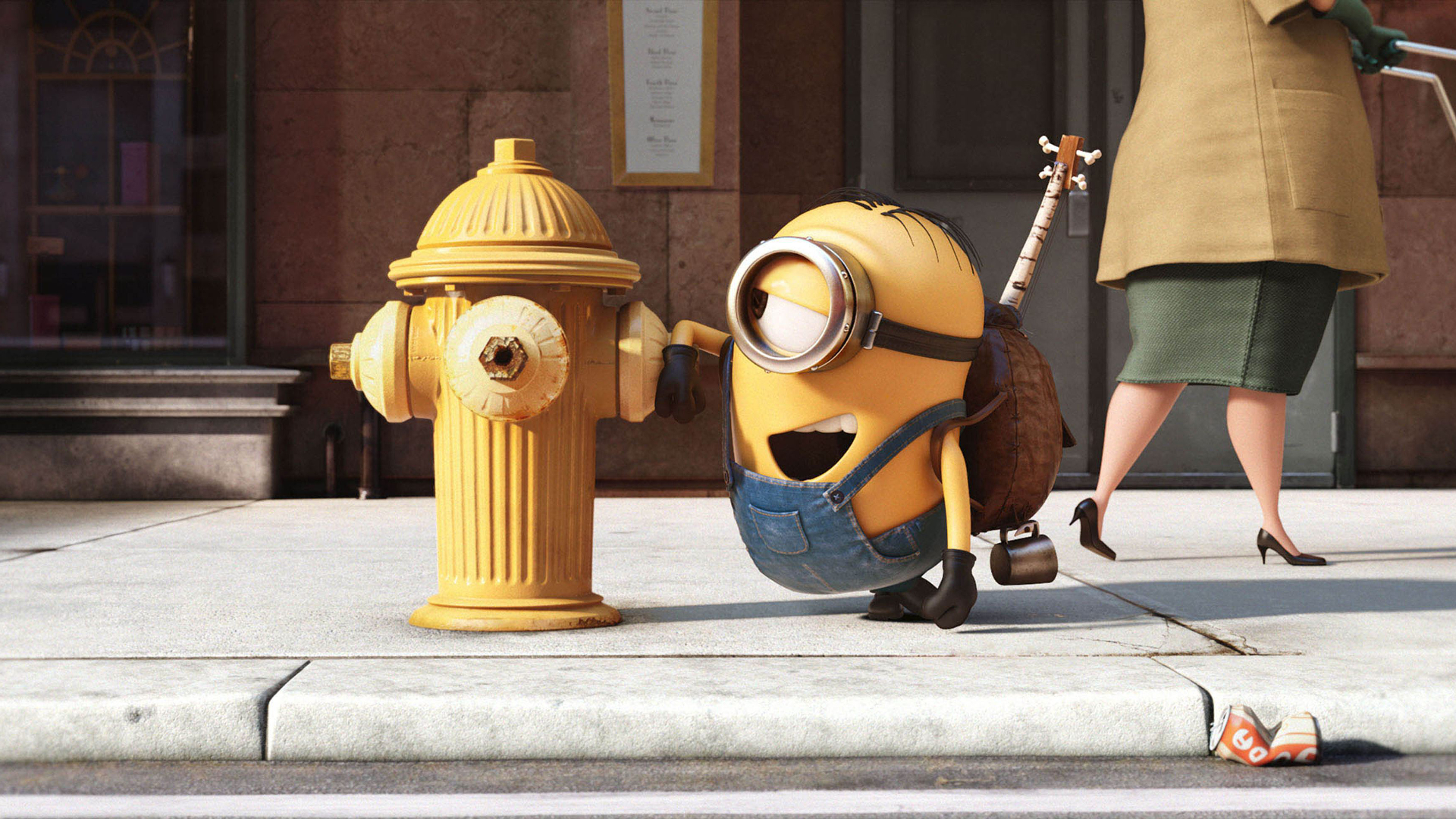 Movie   Minions Stuart (Minions) Wallpaper