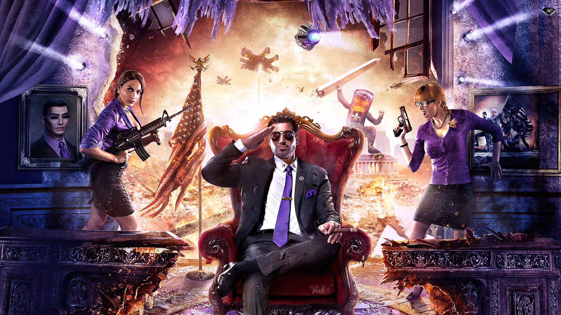Saints Row 4 Wallpapers: Saints Row IV Wallpaper HD Wallpaper