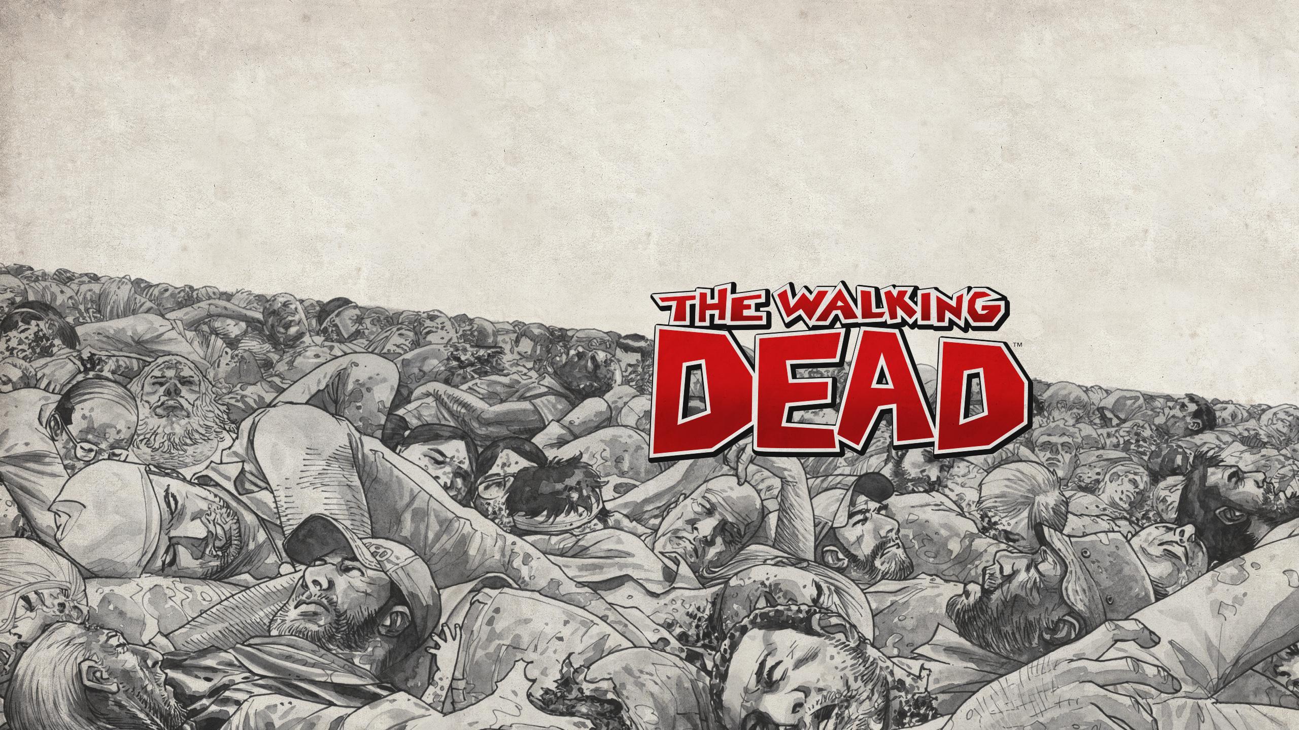 The Walking Dead Hd Wallpaper Background Image 2560x1440 Id
