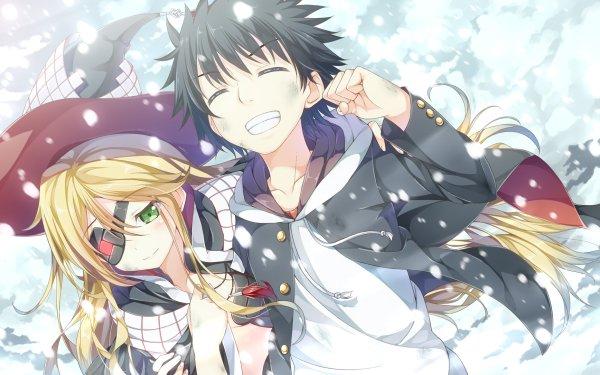 Anime A Certain Magical Index Kamijou Touma Othinus HD Wallpaper | Background Image
