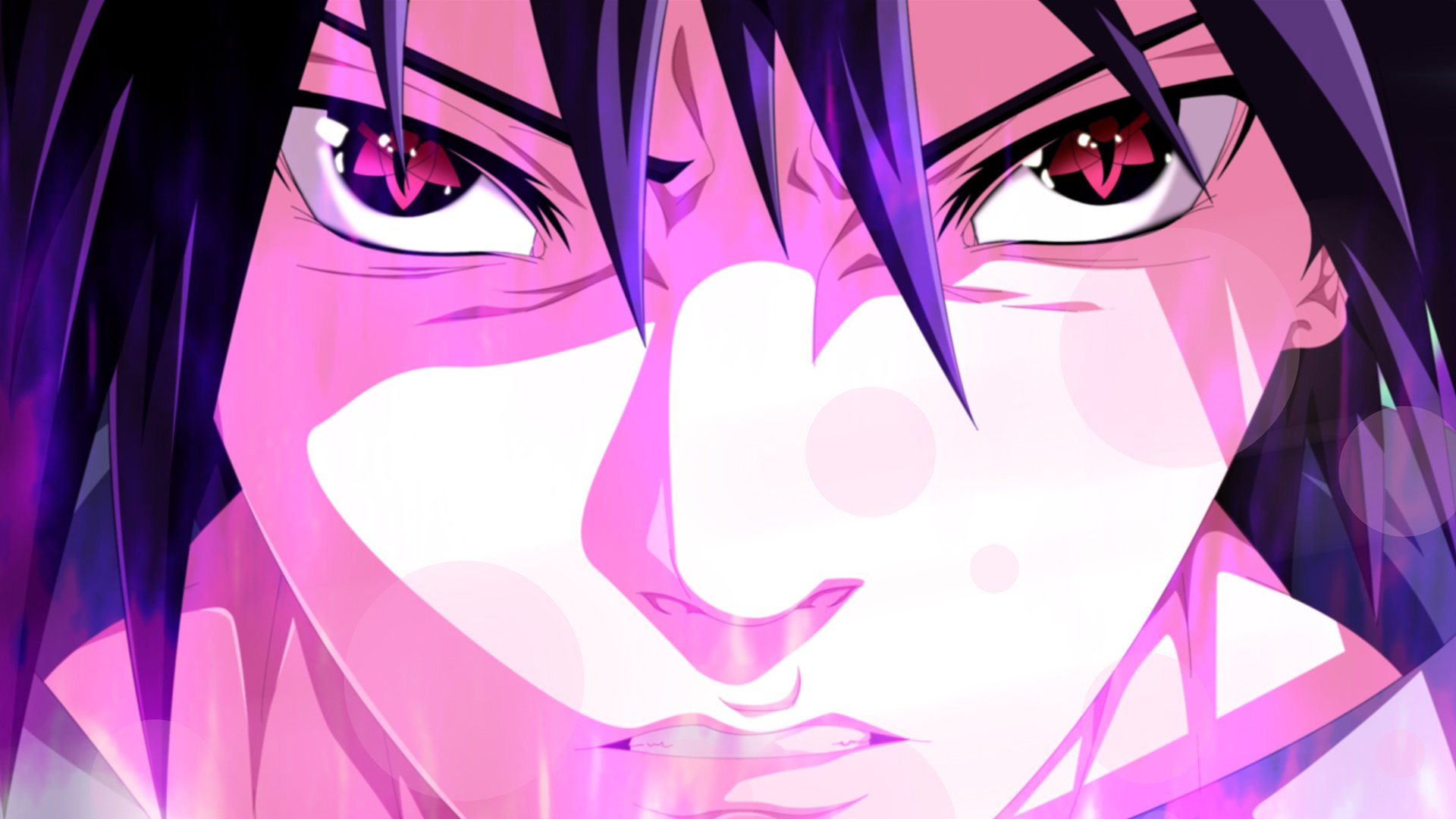 Sasuke (Mangekyou sharingan) Full HD Wallpaper and ...