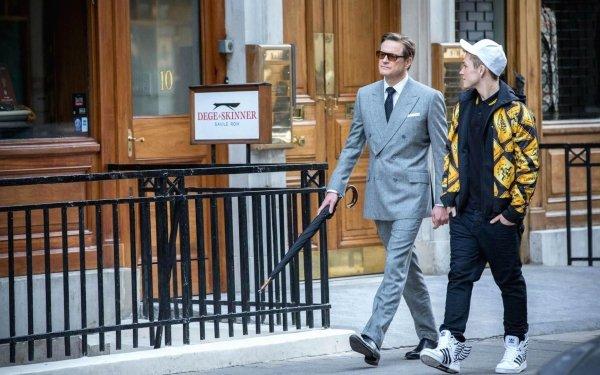 Movie Kingsman: The Secret Service Taron Egerton Colin Firth HD Wallpaper | Background Image