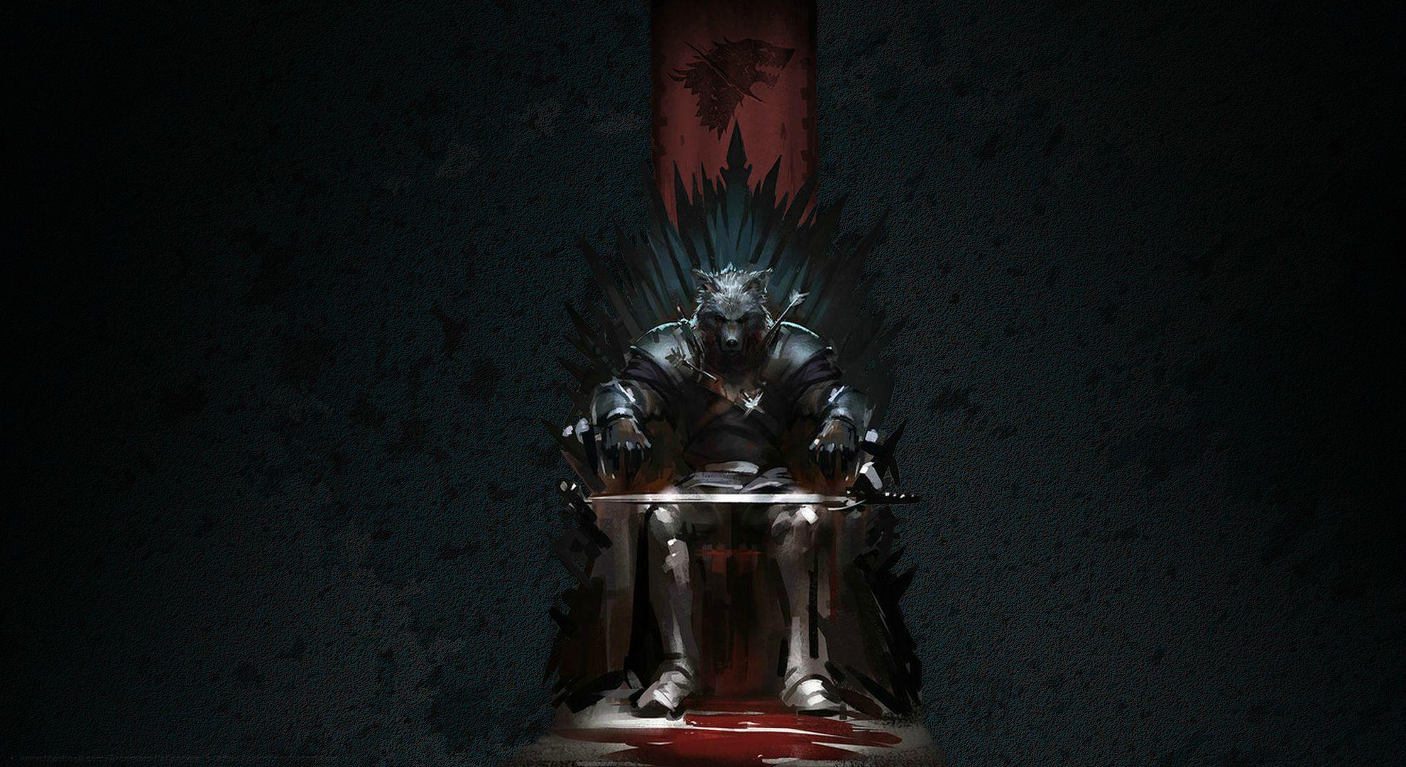 Robb Stark Wolf Head Hd Wallpaper Background Image 1980x1080