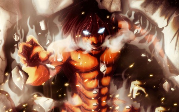 Anime Attack On Titan Eren Yeager HD Wallpaper | Background Image