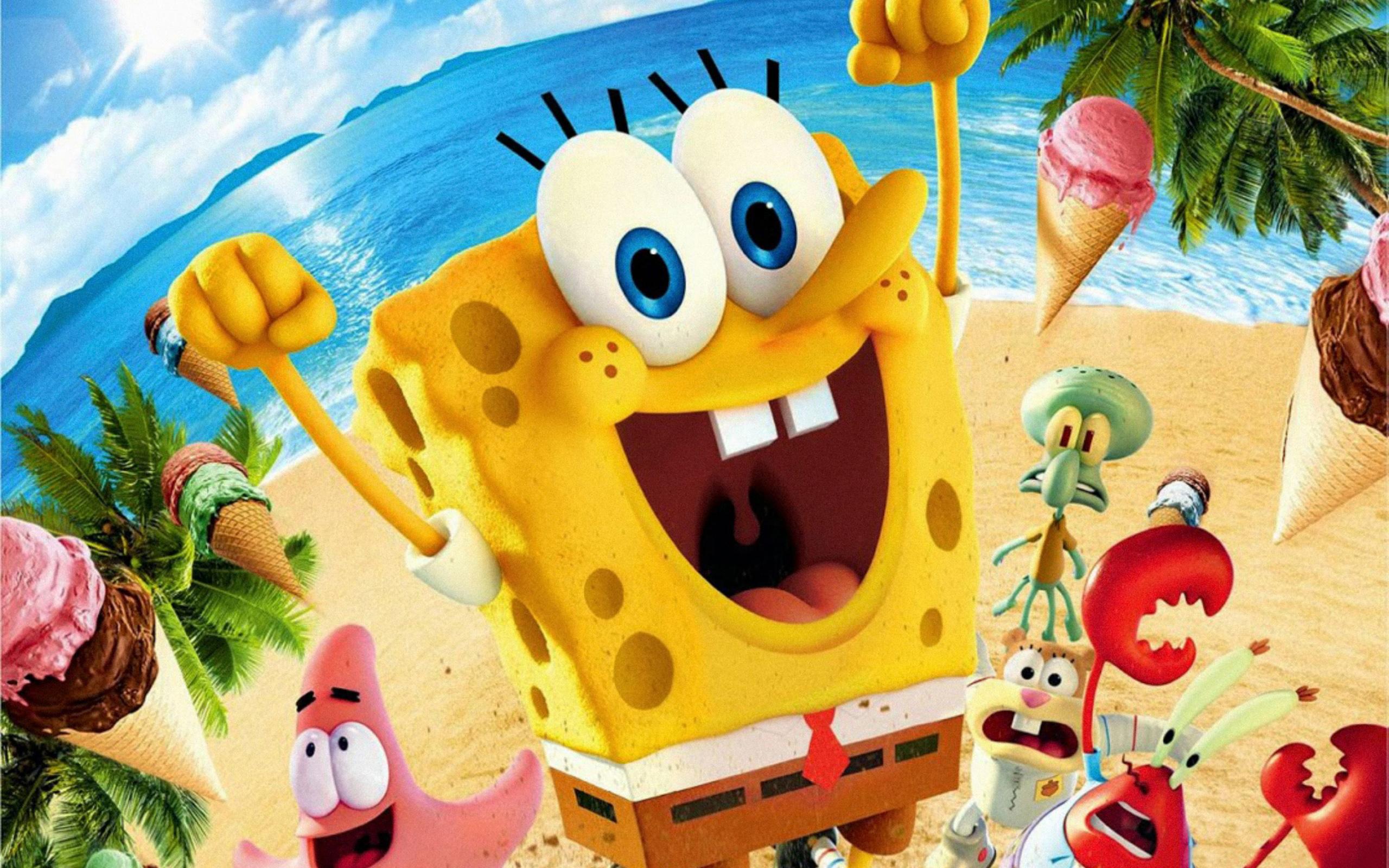 Spongebob Wallpapers Hd: The SpongeBob Movie: Sponge Out Of Water HD Wallpaper