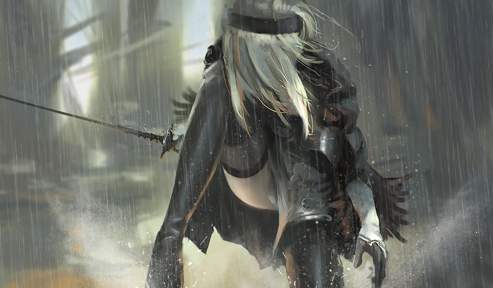 Nier 2 Full Hd Wallpaper And Background Image  1920X1120  Id607965-5901