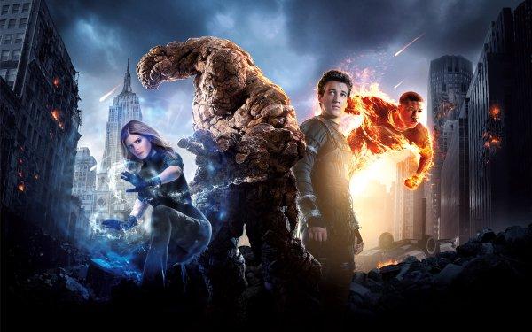 Film Fantastic Four (2015) Thing Ben Grimm Reed Richards Mister Fantastic Susan Storm Invisible Woman Johnny Storm Human Torch Fond d'écran HD | Image