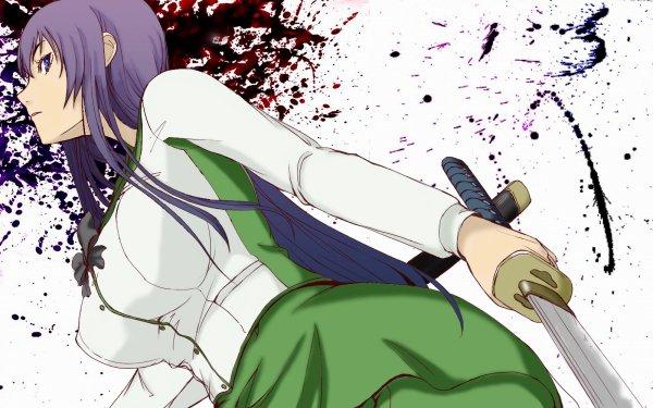 Anime Highschool Of The Dead Saeko Busujima HD Wallpaper | Background Image
