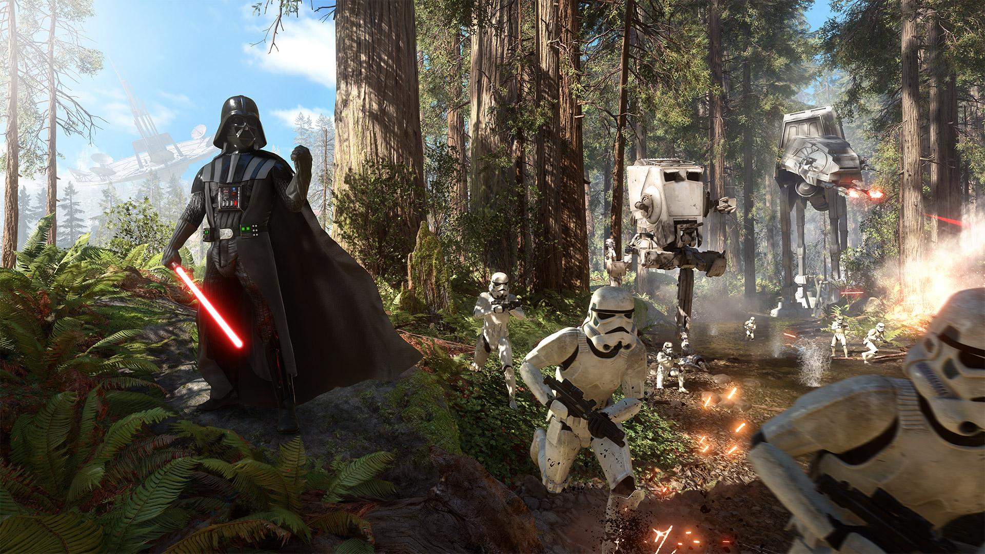 Star Wars Battlefront 2015 Hd Wallpaper Background Image