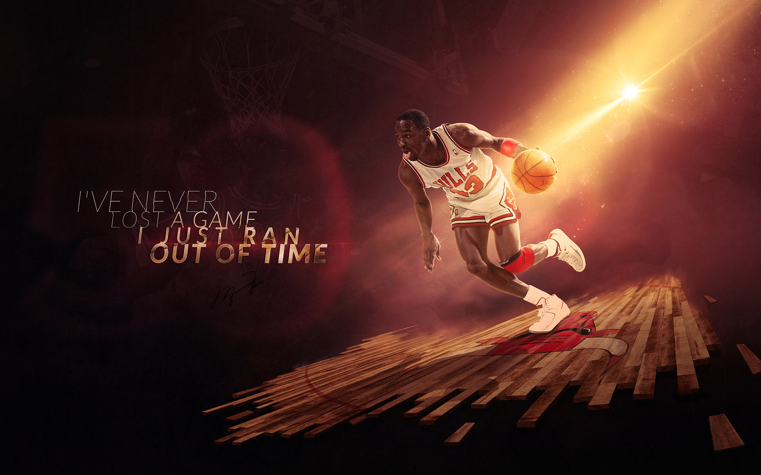 Michael Jordan Hd Wallpaper Background Image 2560x1600