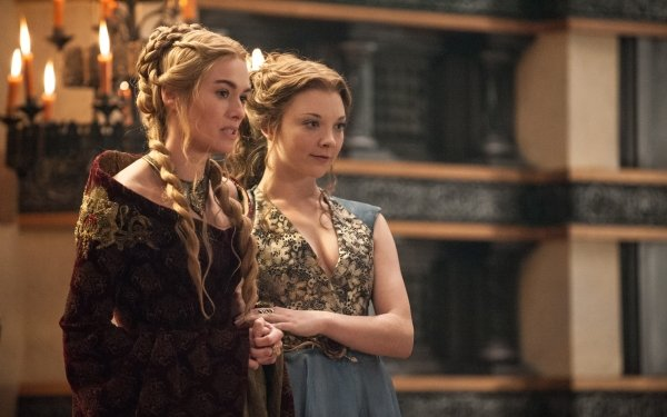 TV Show Game Of Thrones Cersei Lannister Lena Headey Margaery Tyrell Natalie Dormer HD Wallpaper | Background Image