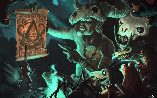 Video Game Diablo III: Reaper Of Souls Diablo Witch Doctor HD Wallpaper | Background Image
