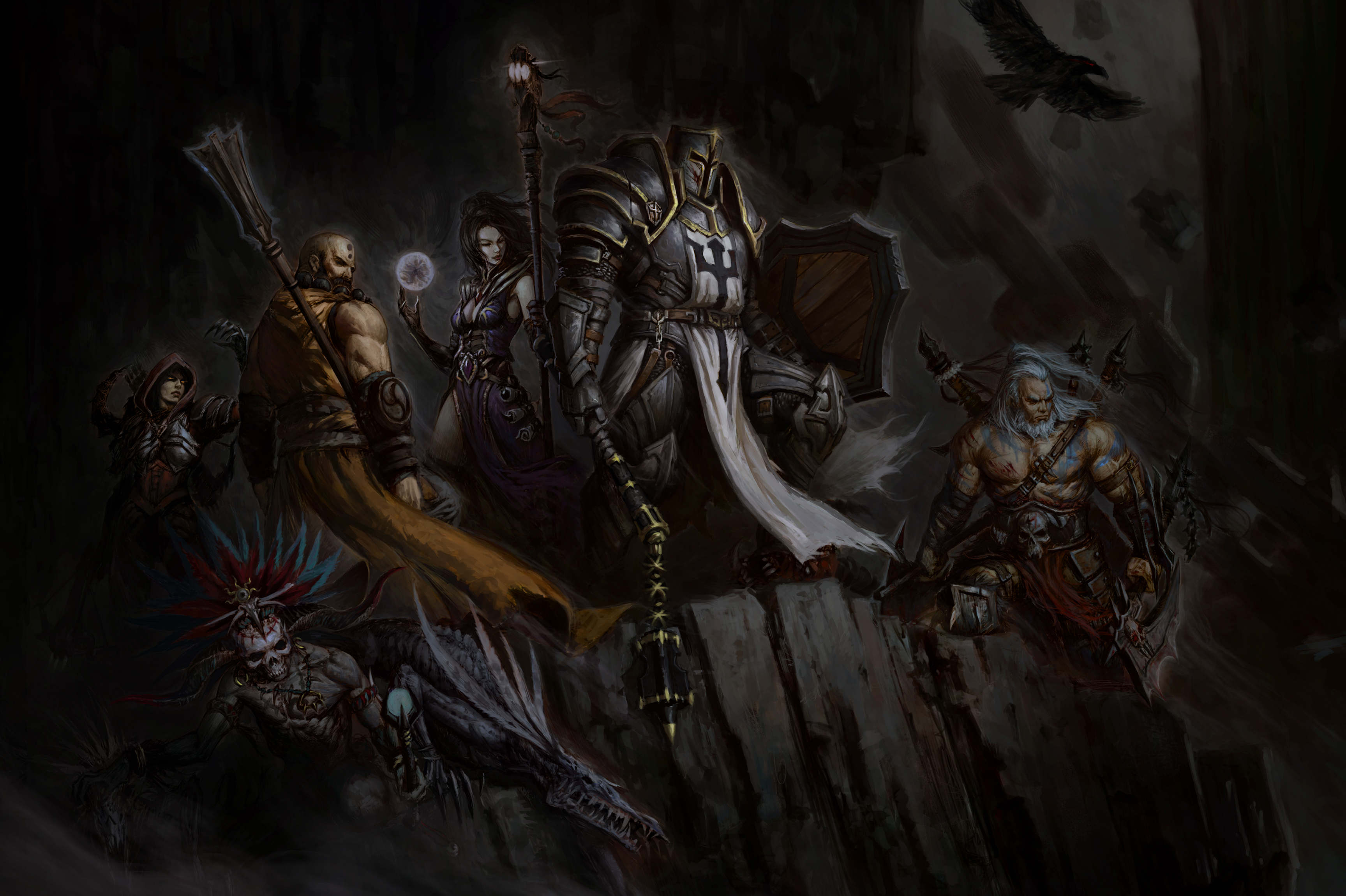 90 Wizard Diablo Iii Hd Wallpapers Background Images