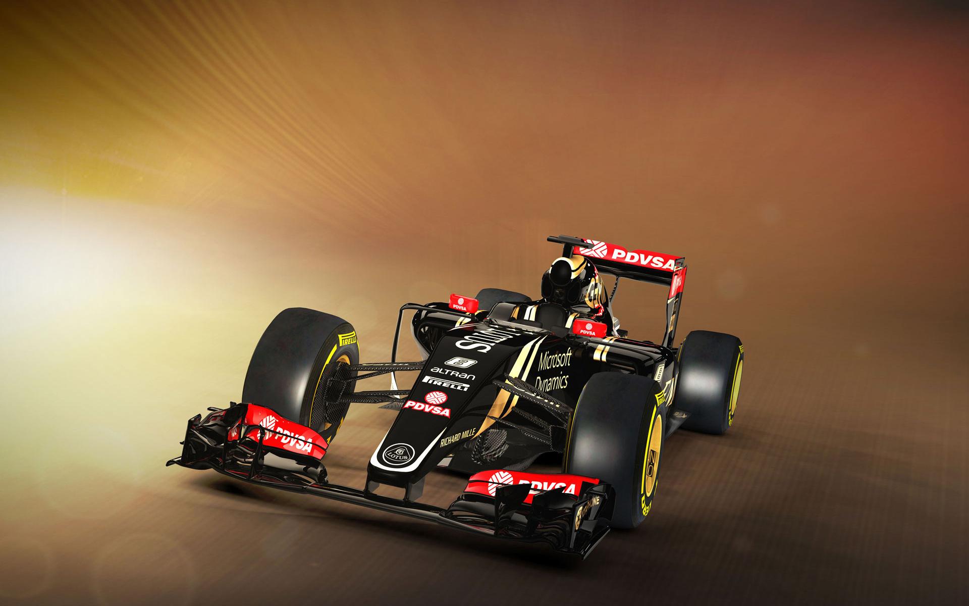 Lotus E23 Formula 1 HD Wallpaper