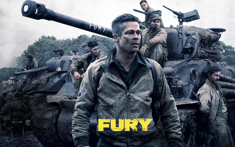 Fury HD Wallpaper