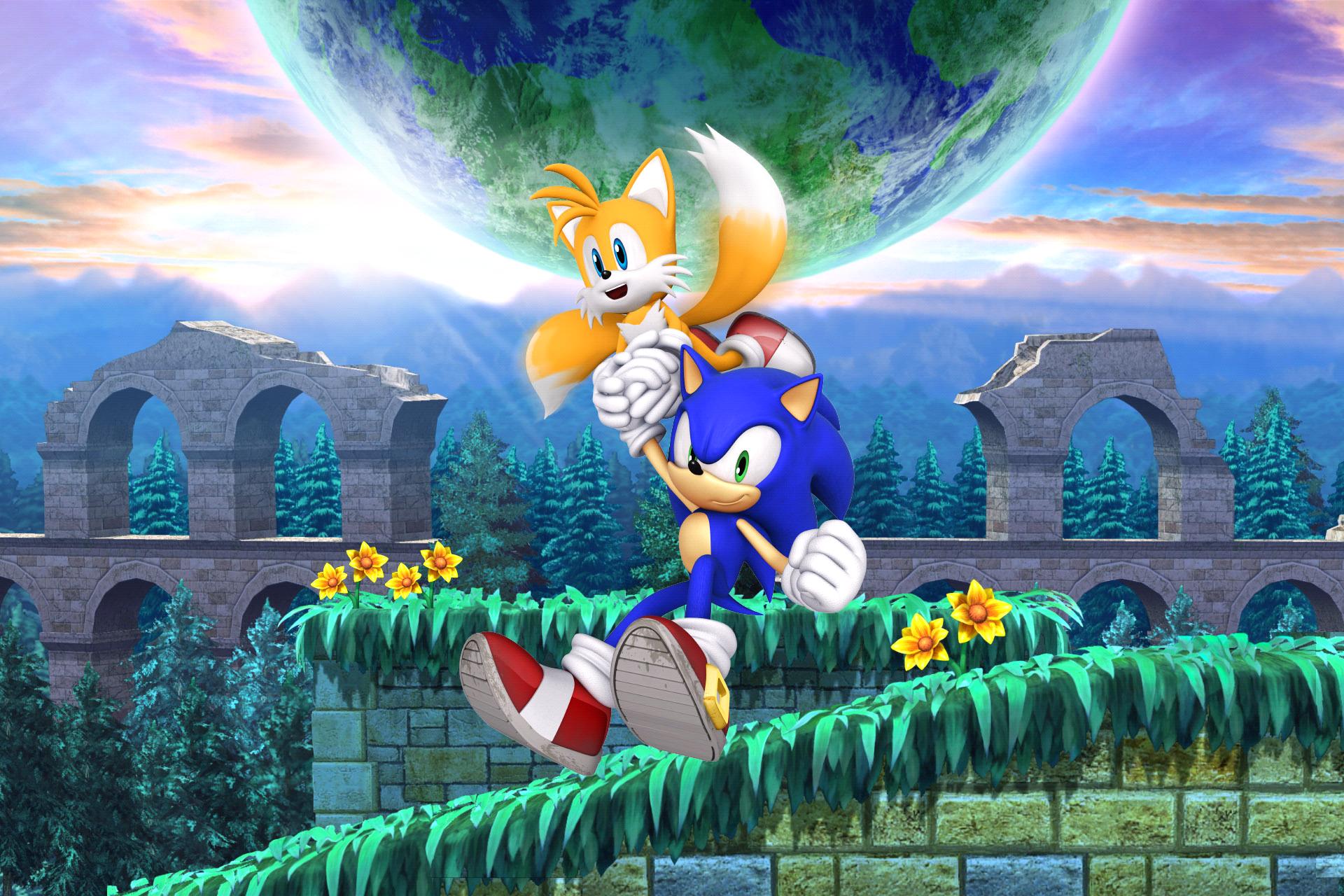 Sonic The Hedgehog 4 Episode Ii Hd Wallpaper Background Image