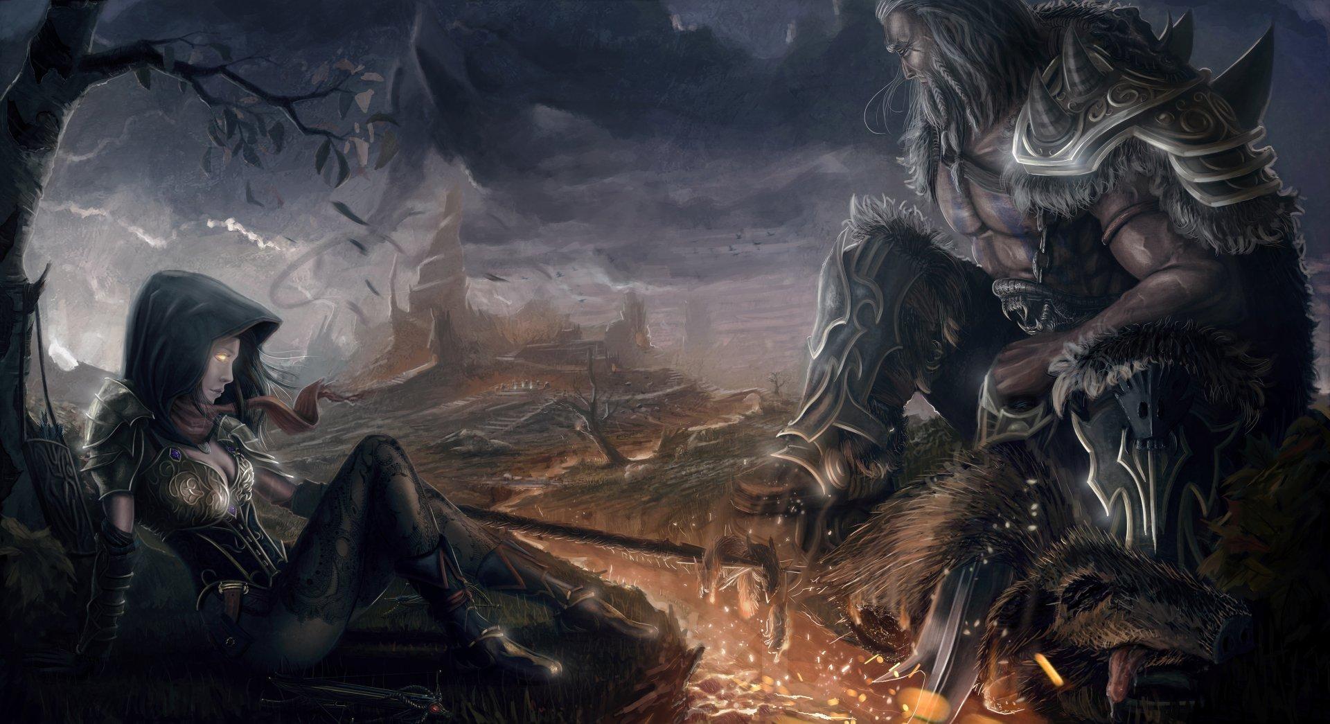 Diablo iii reaper of souls 4k ultra hd wallpaper - Demon wallpaper 4k ...