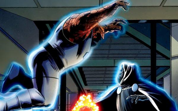 Comics Los 4 Fantásticos Thing Doctor Muerte Fondo de pantalla HD | Fondo de Escritorio