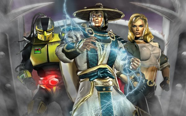Video Game Mortal Kombat: Deadly Alliance Mortal Kombat HD Wallpaper   Background Image