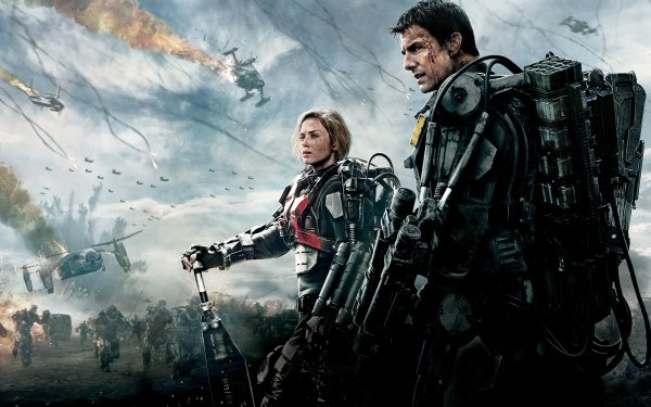 Movie Edge Of Tomorrow Emily Blunt Tom Cruise HD Wallpaper | Background Image