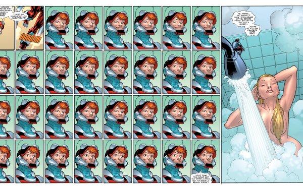 Comics Ant-Man Carol Danvers HD Wallpaper | Background Image