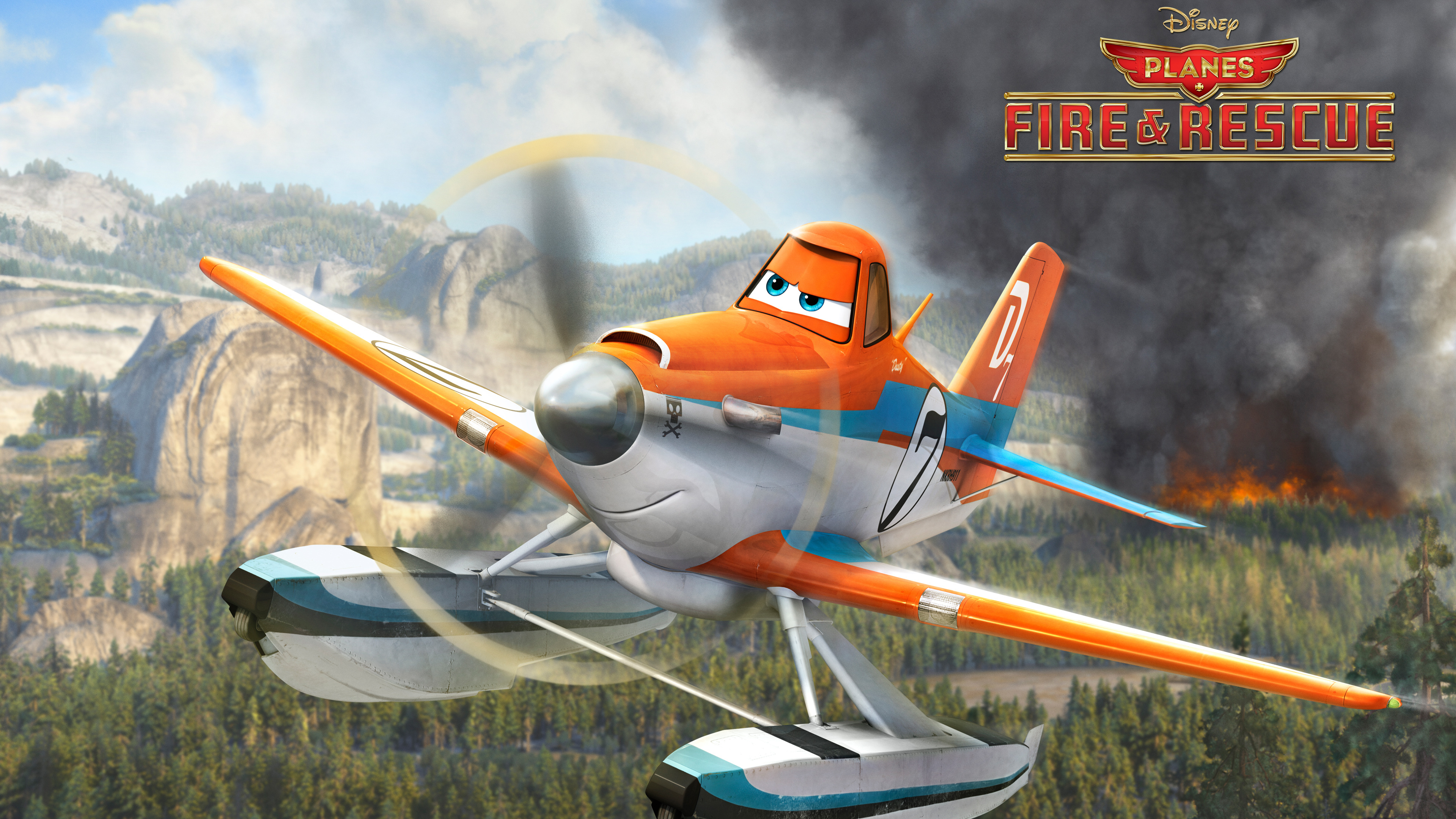 Planes: Fire & Rescue 4k Ultra HD Wallpaper and Background ...