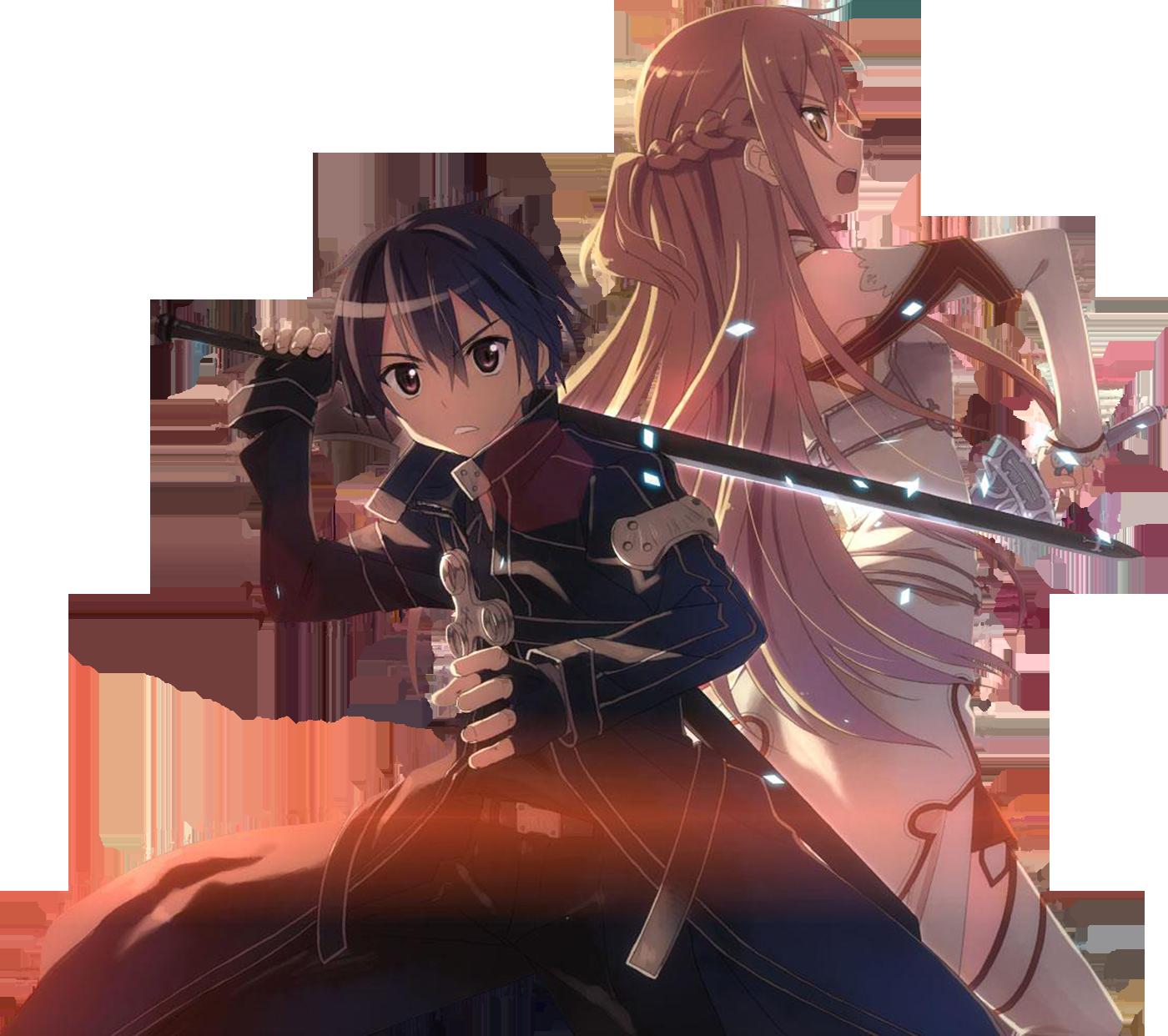 Online Wallpaper: Kirito And Asuna Wallpaper And Background Image