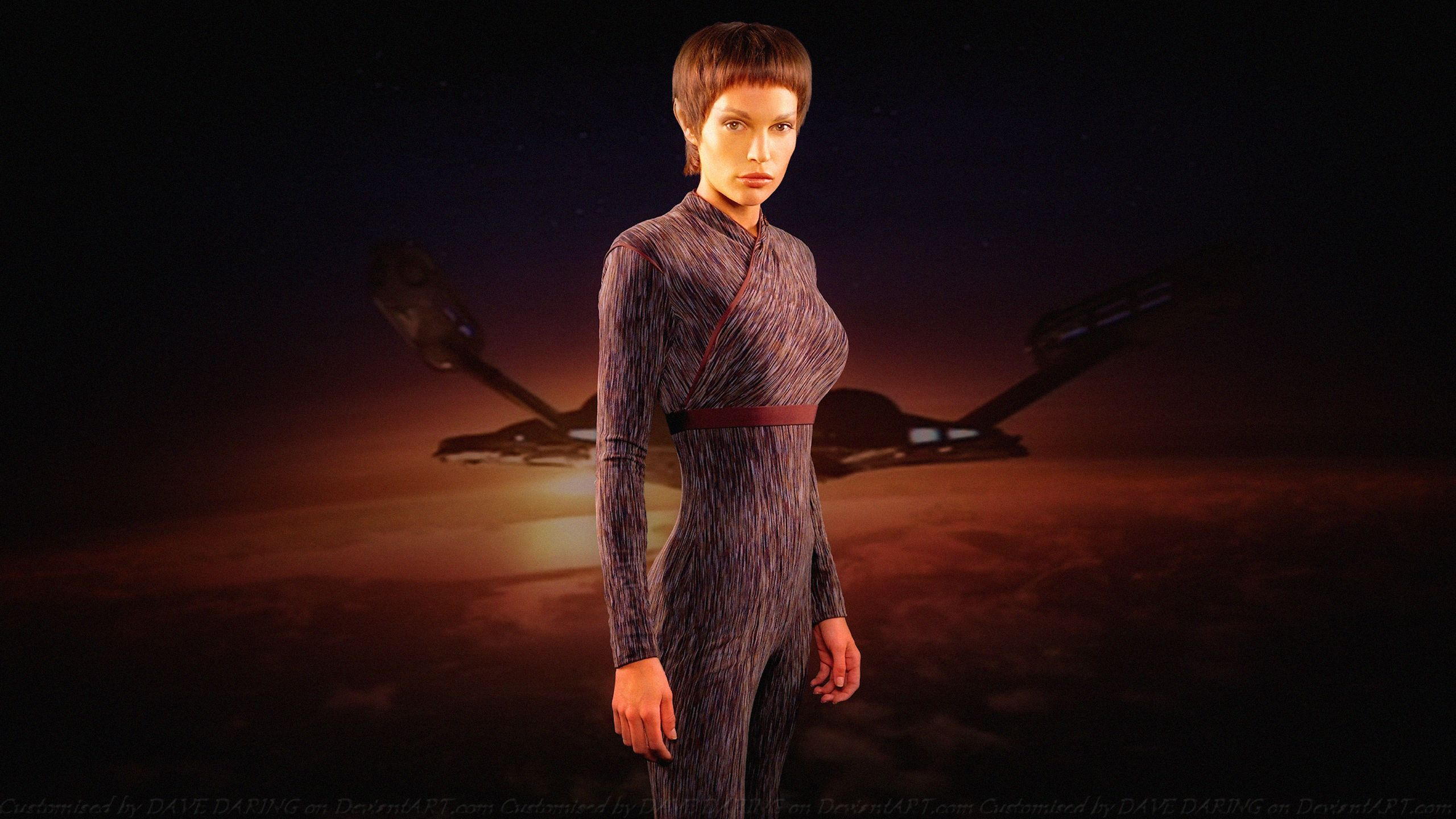 TV-program Star Trek: Enterprise Jolene Blalock Bakgrund