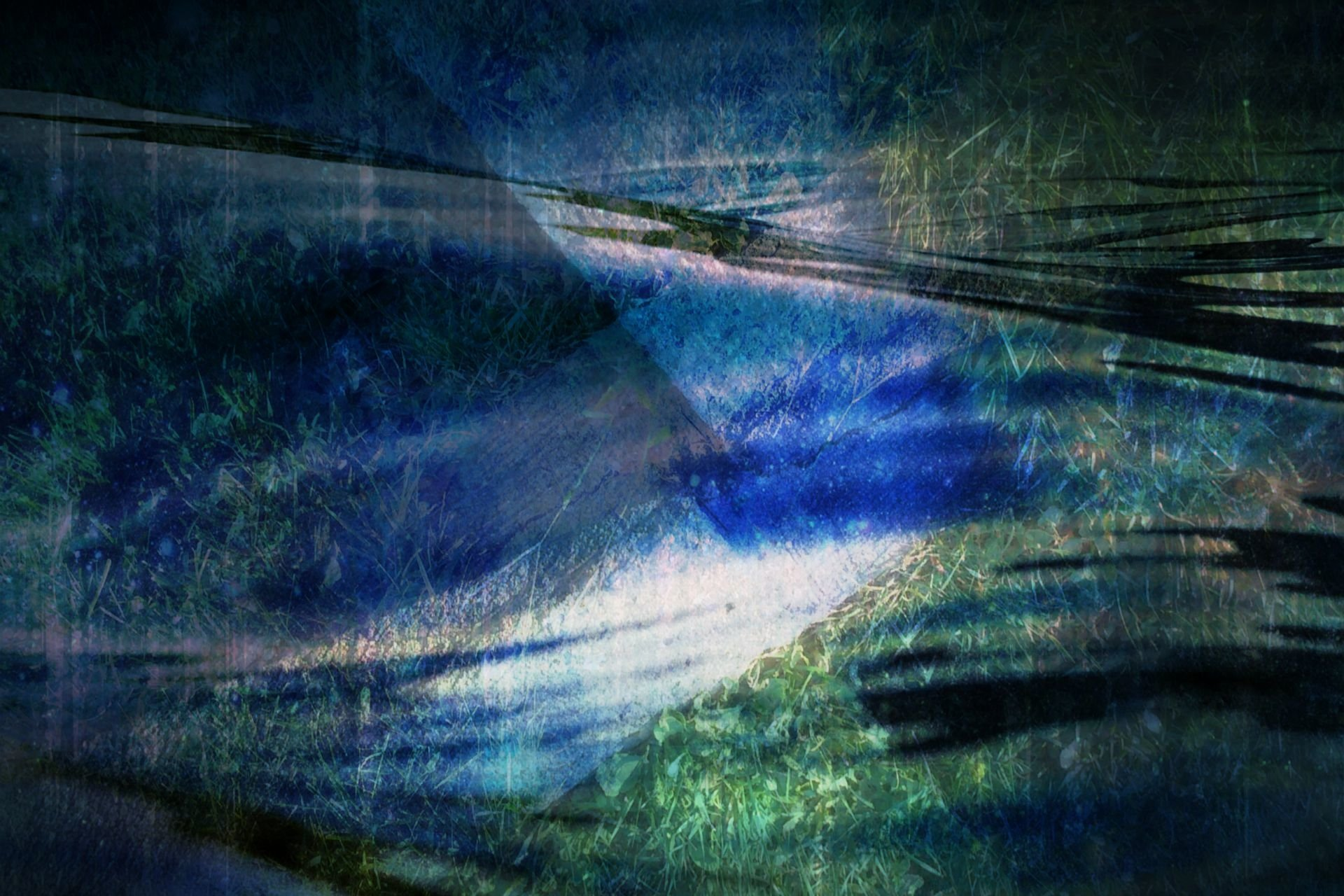Artistic - Blue  Wallpaper