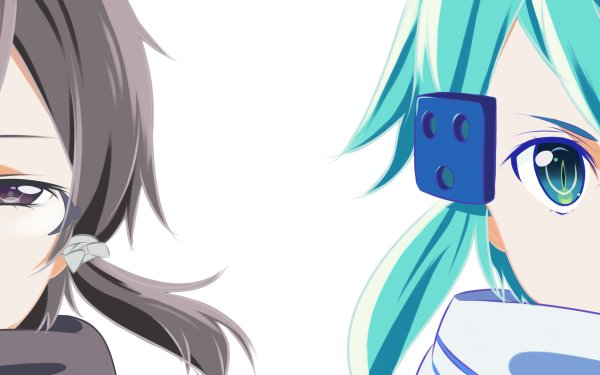 Anime Sword Art Online II Sword Art Online Sinon Kazuto Kirigaya Shino Asada HD Wallpaper | Background Image