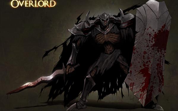 Anime Overlord Death Knight Fondo de pantalla HD | Fondo de Escritorio