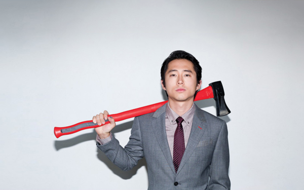 Celebrity Steven Yeun Actors United States HD Wallpaper   Background Image