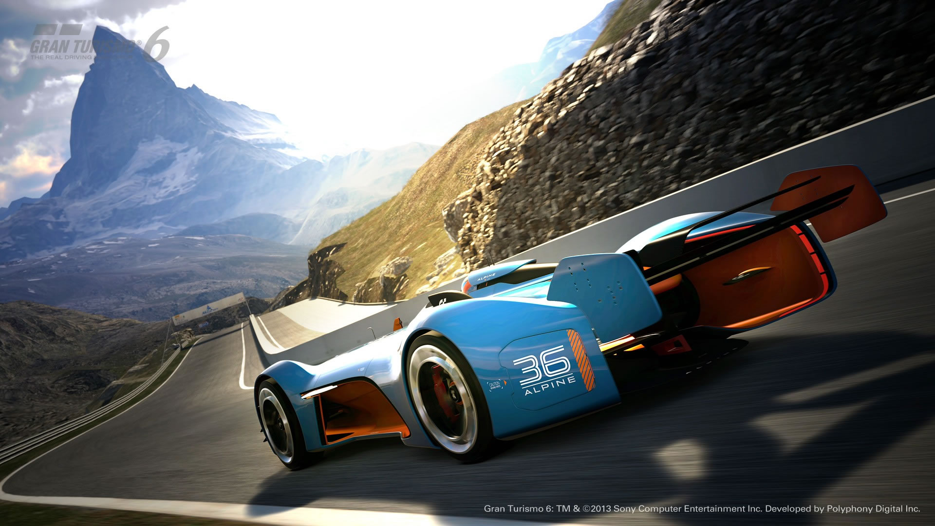 Alpine vision gran turismo full hd wallpaper and background image video game gran turismo 6 wallpaper publicscrutiny Image collections